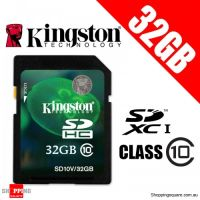 Thẻ nhớ 32Gb Class 10 Kingston SDHC