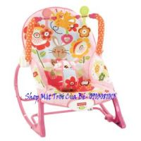 Ghế rung _Fisher-Price Infant-To-Toddler Rocker