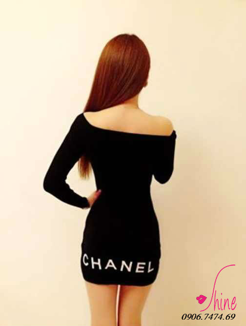 Dam body Chanel quyen ru co 3 mau