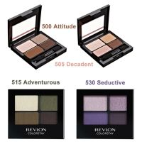 Phấn mắt Revlon Color Stay - 500 Attitude, 505 Decadent, 515 Adventurous, 530 Seductive