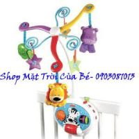 Treo nôi_ Fisher-Price Brilliant Basics 2-in-1 Activity Friends Mobile