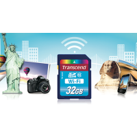 Thẻ nhớ SD Wifi Transcend 16 GB Class 10 Memory Card