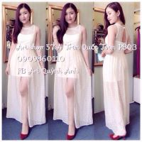 {MiMiShop Online} Đầm maxi ren lưới Ari so hot! MS: DS4040