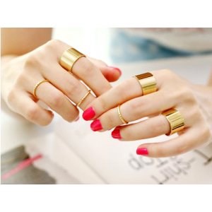 Set 6 nhẫn mini rings N31