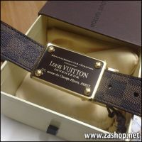 Dây nịt Louis Vuitton hàng super fake, zashop, Code: N04129