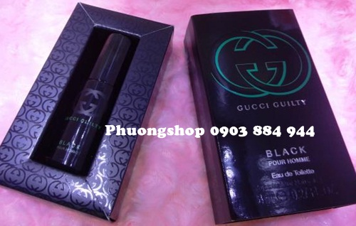 Gucci guilty black 8ml