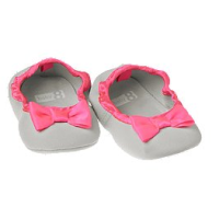Giày bow crib shoes