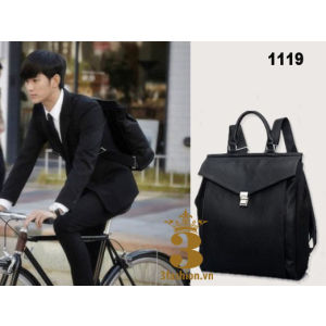 Balo chất da Do Min Joon - 3 Fashion
