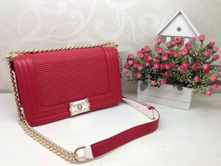 Chanel Cube Red Túi Chanel Cube 2014 || Cổng