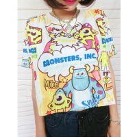 MS : 637 - Croptop university monster