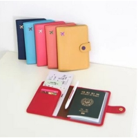 Bóp vi passport colorblock hãng Shinzi Katoh - Ouellet Shop