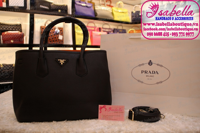 Túi xách Prada Double Bag Fake1A Size 30