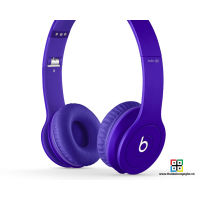Tai nghe Beats Solo HD by Dr.Dre 2013 - Matte Purple