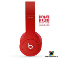 Tai nghe Beats Solo HD by Dr.Dre 2013 - Matte Red
