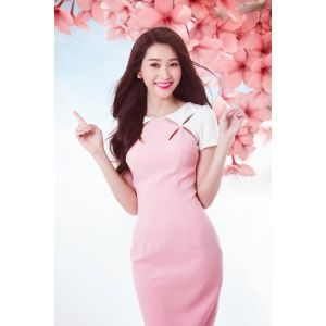 Đầm cut out Thu Thảo MC052